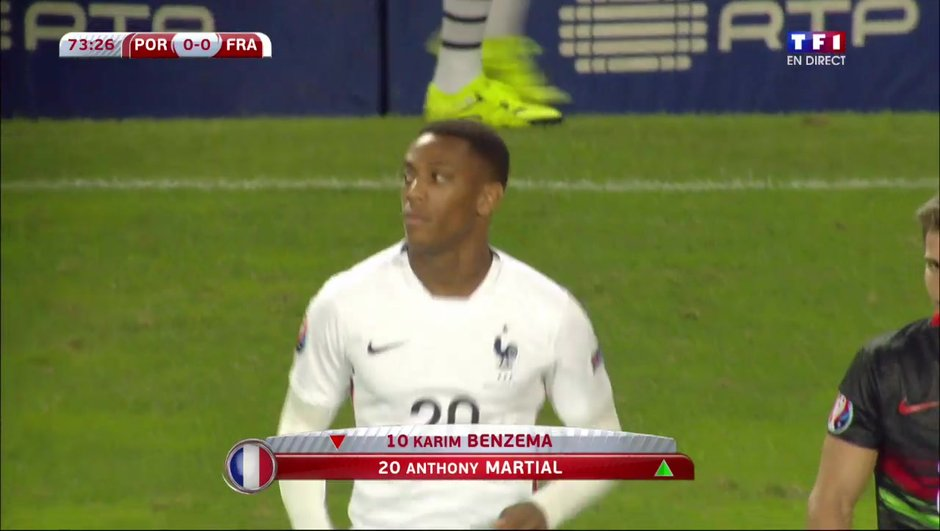 L'addition Téléfoot : Gagnez la veste d'Anthony Martial !