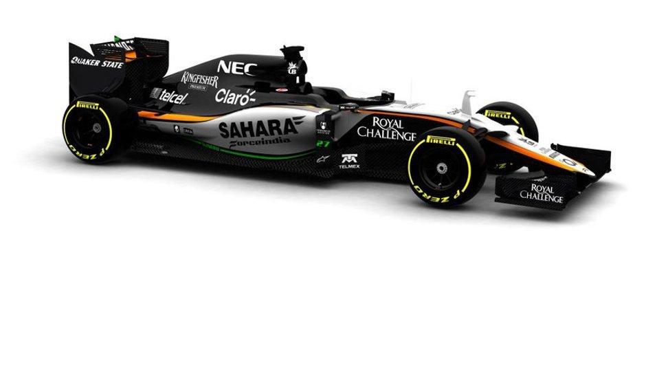 F1 2015 : Force India lève enfin le voile sur sa VJM08