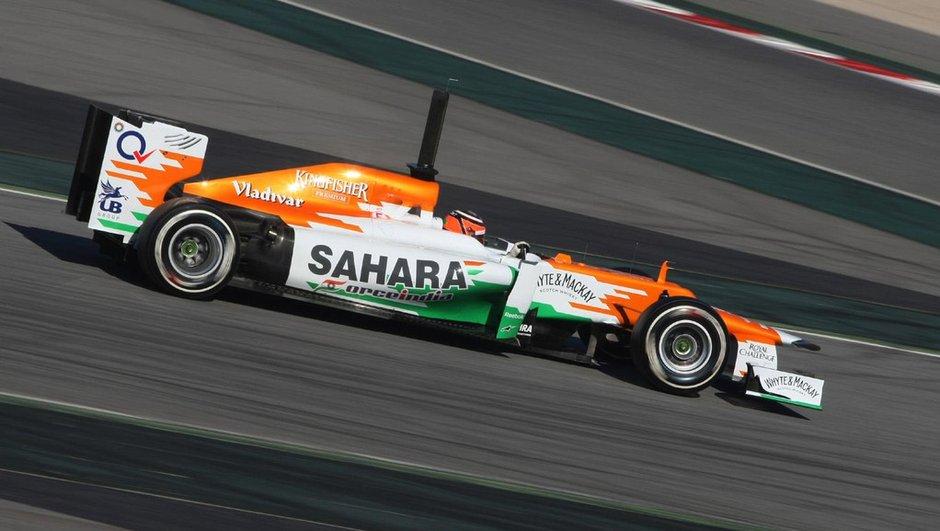 F1 - J2 tests Barcelone : Hulkenberg maître des temps