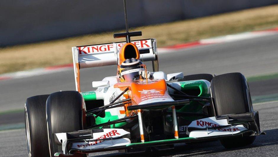 F1 : première journée de tests à Barcelone