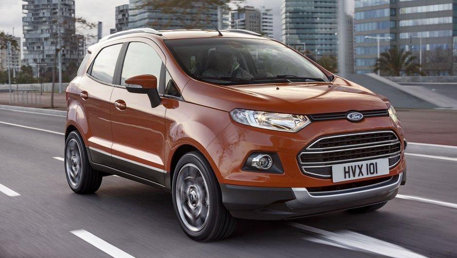 MWC 2013 : Nouveau Ford EcoSport, le mini-crossover connecté