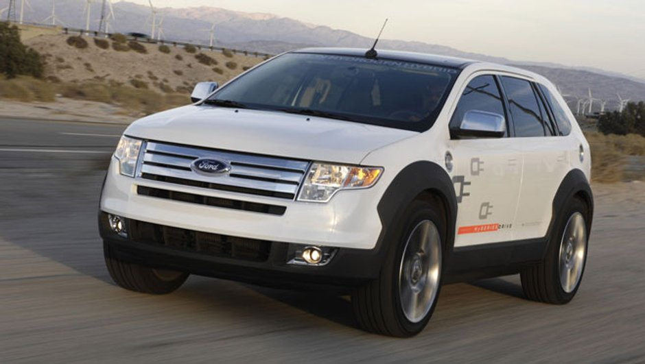 Ford Edge Hyseries: Le colosse hybride