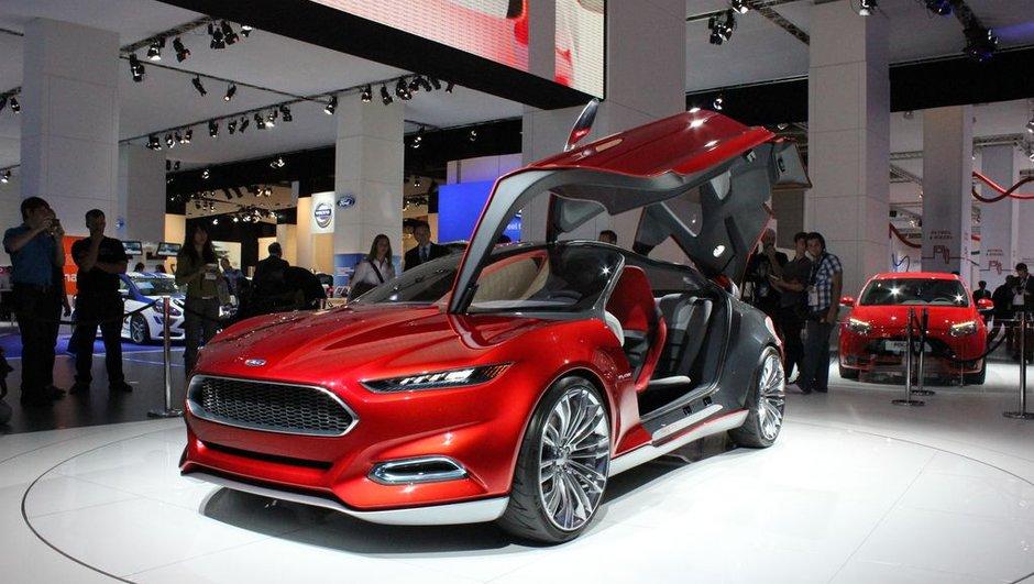 Salon de Francfort 2011 : Ford Evos Concept, la signature du futur