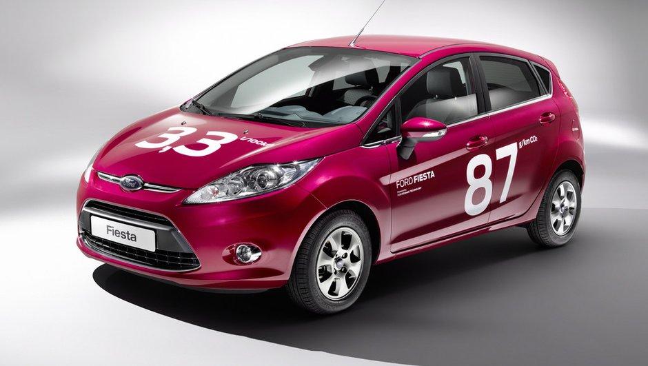 La Ford Fiesta ECOnetic 10% plus efficiente