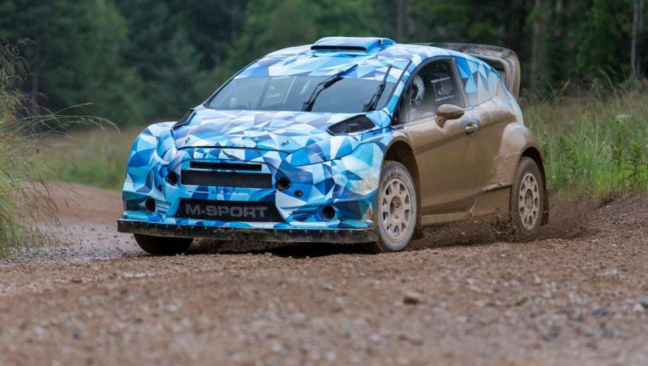 Premières images de la Ford Fiesta RS WRC 2017 par M-Sport