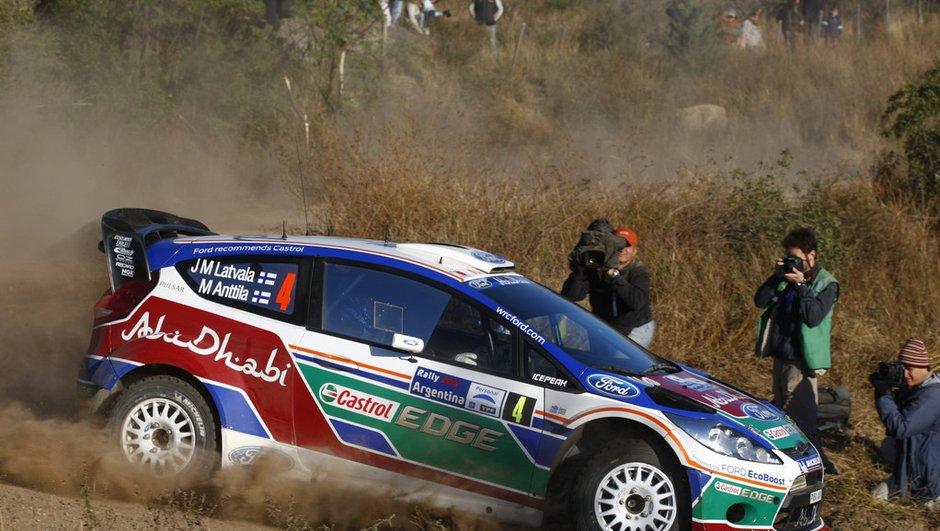 WRC : Latvala en tête au premier jour du Rallye d'Argentine