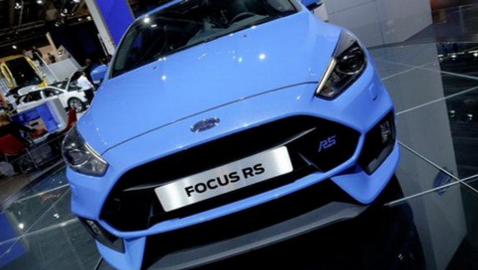 Salon de Francfort 2015: Ford Focus RS, 4,7 secondes pour le 0-100 km/h !