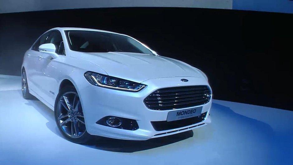 Ford dévoile les nouvelles Mondeo et Fiesta 2013