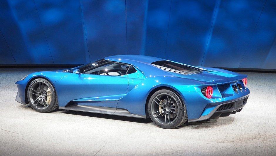 La Ford GT sera très rare en Europe