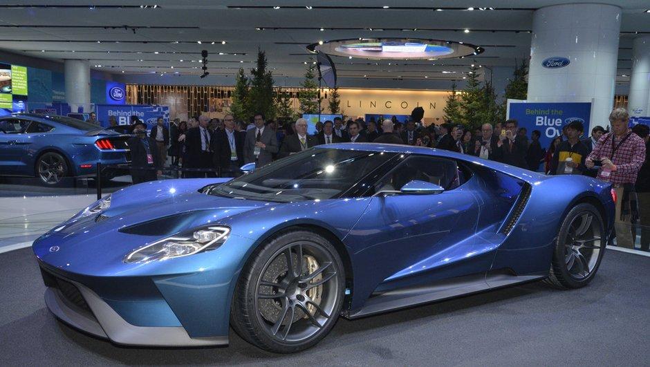 Salon de Genève 2015 : Ford GT, la bête américaine envahit l'Europe (+ vidéo)
