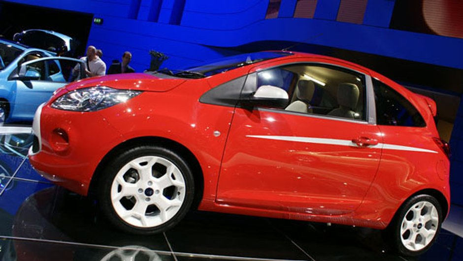 Ford offre un restylage à sa KA