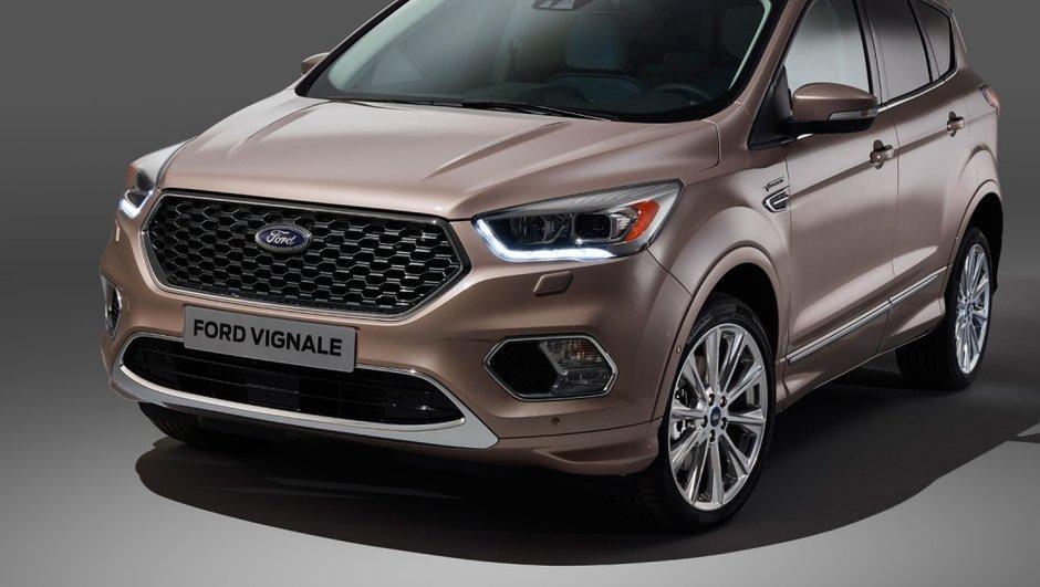Avec son Kuga Vignale, Ford tape fort dans le haut de gamme
