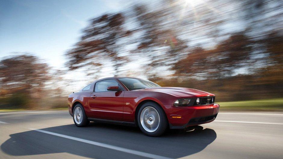 Ford Mustang 2010 : elle monte en gamme