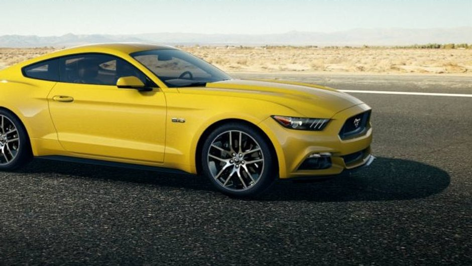 Nouvelle Ford Mustang 2015 : moteurs V6 310 et V8 435 ch confirmés