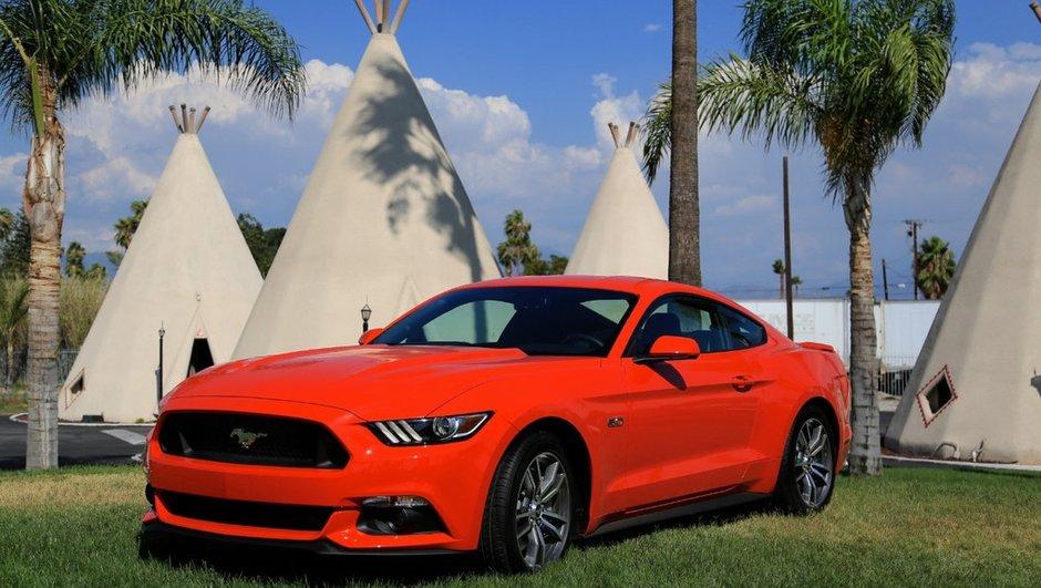 Ford Mustang 2015: le coupé américain disponible à partir de 35 000 euros