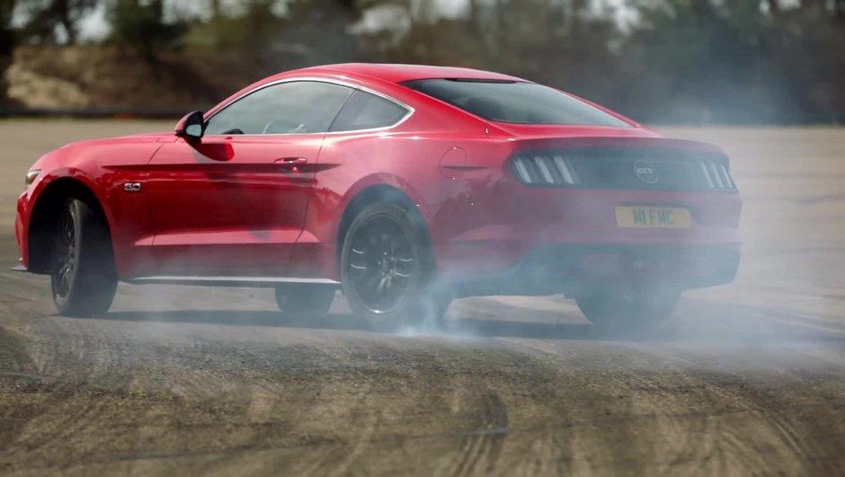 VIDEO: La Ford Mustang part en drift sur le circuit de Lommel!