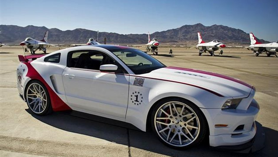 La Mustang GT version US Air Force atteint un prix record