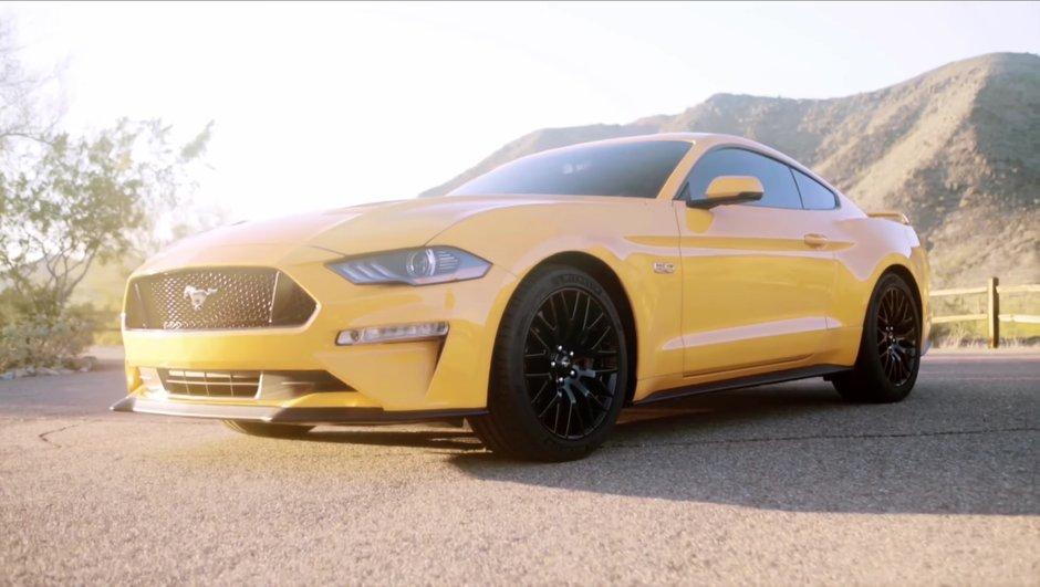 Vidéo : la Ford Mustang restylée 2017 se dévoile en images