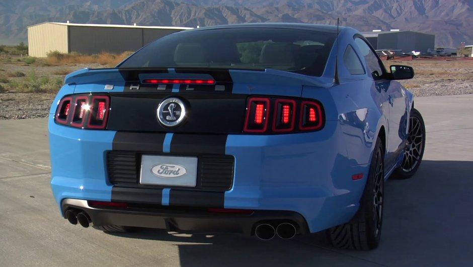 Vidéo : Shelby GT500, née Ford Mustang 2013