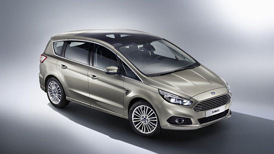 Nouveau Ford S-Max 2015 : les photos et infos officielles