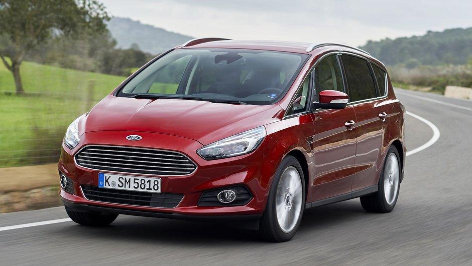 Nouveau Ford S-Max 2015 : les prix, moteurs, et équipements