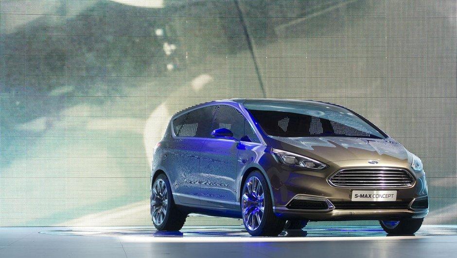 Salon de Francfort 2013 : Ford S-Max Concept, premium et connecté