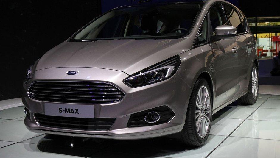Mondial de l'Automobile 2014 : Ford S-Max, une 2nde génération dans la continuité