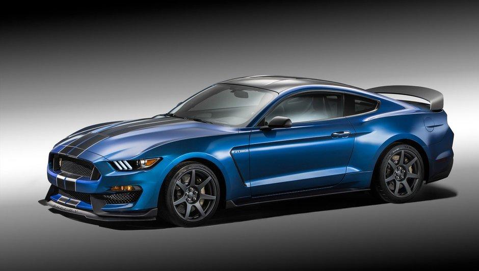 Ford Shelby GT350R Mustang 2015 : encore plus de férocité pour Detroit