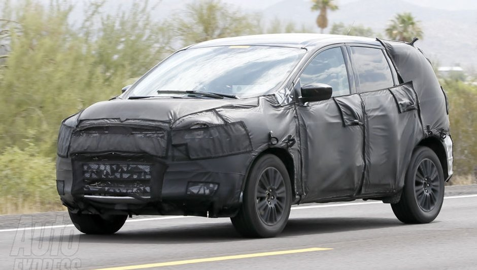 Ford Vertrek : le remplaçant du Kuga en tests !