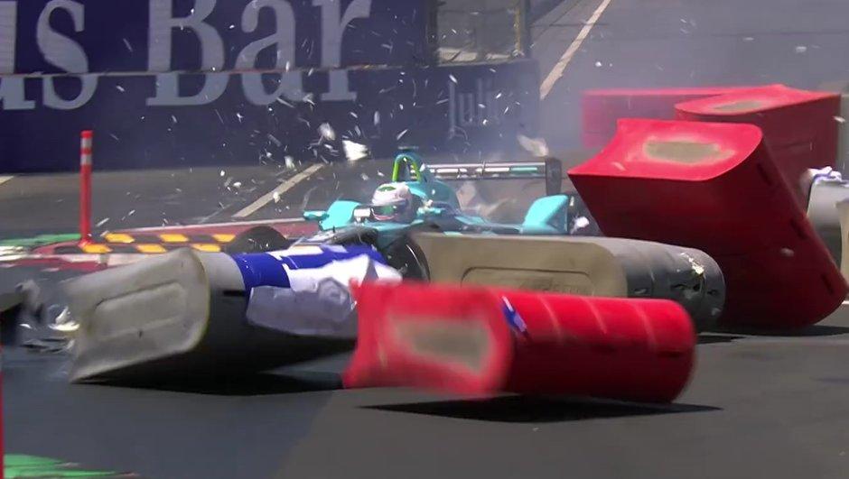 Formula E – Mexico 2016 : Nelson Piquet accidenté, le vainqueur di Grassi disqualifié