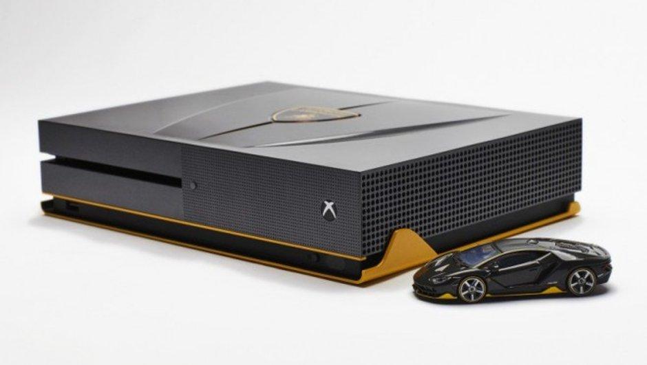 "Une Xbox One ""Lamborghini Centenario"" pour fêter la sortie de Forza Horizon 3"
