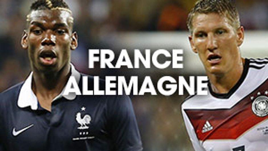 France-Allemagne : Suivez le match en streaming vidéo