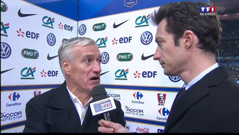 """France-Brésil (1-3) - Deschamps : """"On a été punis sur nos erreurs"""""""