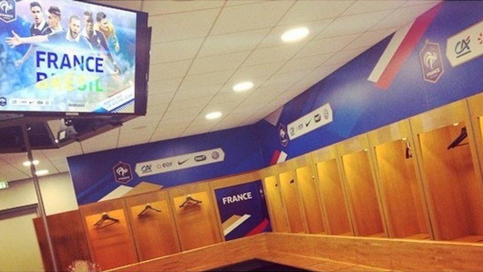 France-Brésil : les premières images exclusives de l'avant-match