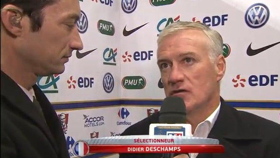"France-Danemark (2-0) - Deschamps :  ""On a un peu trop subi en seconde période"""
