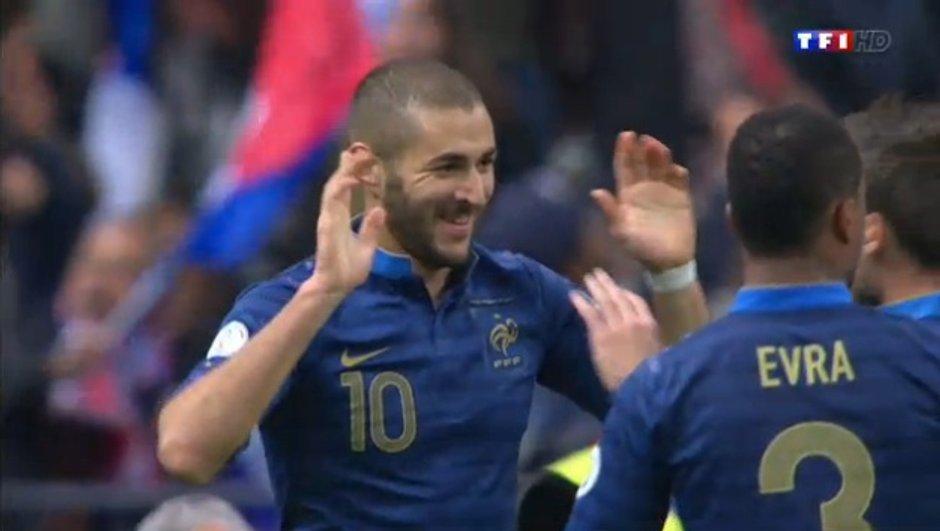France-Finlande : but de Benzema en vidéo, 3-0 (87e)