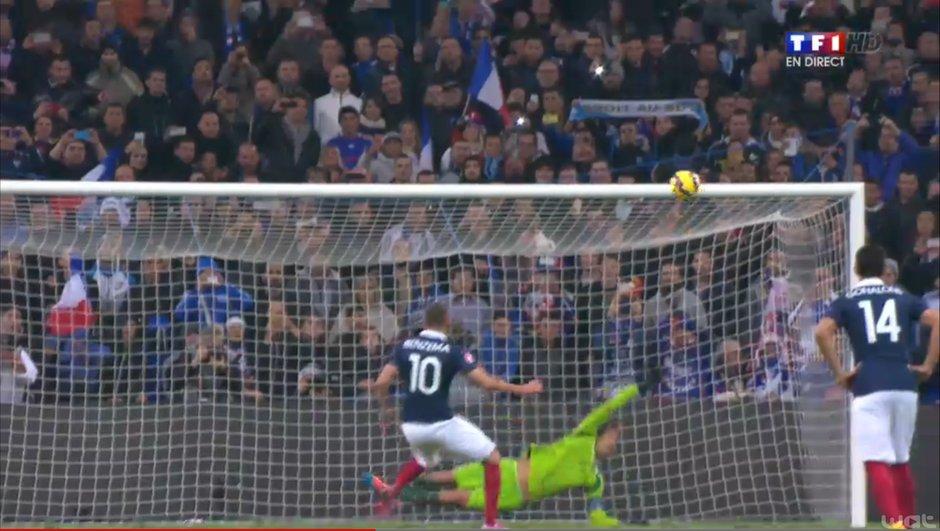 France-Suède - REPLAY : Revoir le pénalty manqué par Karim Benzema (86ème) en vidéo