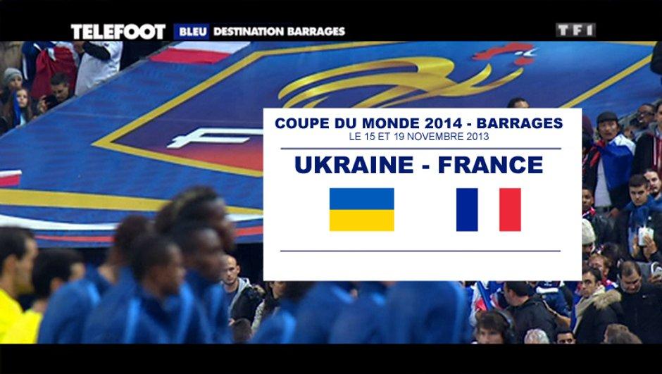Coupe du monde 2014 : ce sera France-Ukraine en barrages