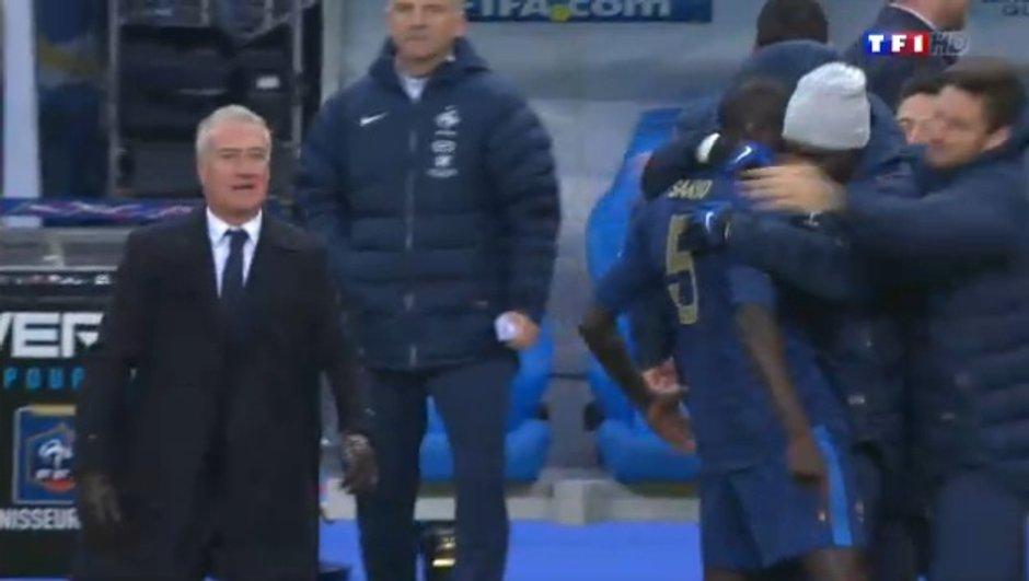 France-Ukraine: but de Sakho en vidéo, 1-0 (22e)