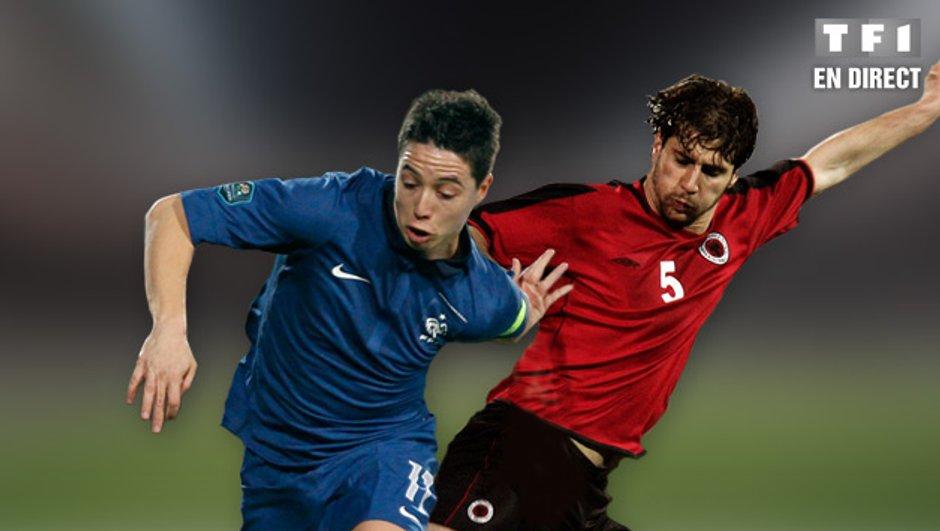 France - Albanie en streaming vidéo !