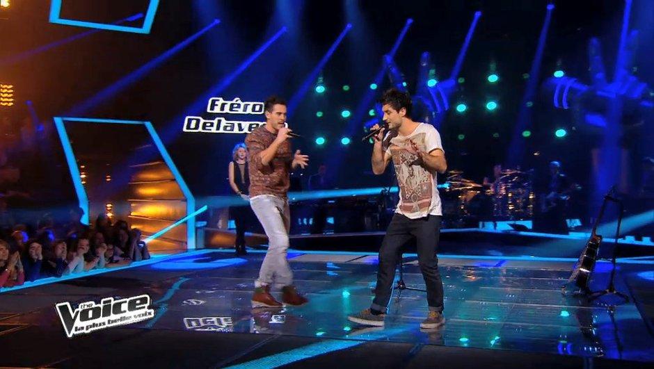 The Voice 3 : Quand les Fréro Delavega chantent 50 Cent... en mode reggae !