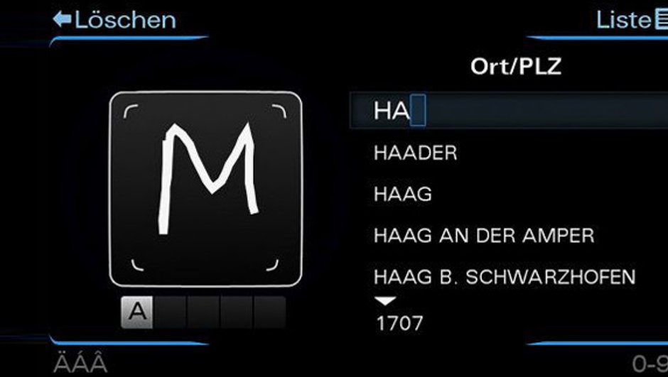 L'Audi A8 2010 adoptera une nouvelle interface MMI