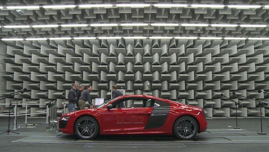 Vidéo : la future Audi électrique fait du bruit !