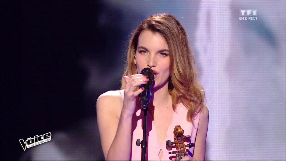 """Gabriella se surpasse avec son violon sur """"Stressed out"""" !"""