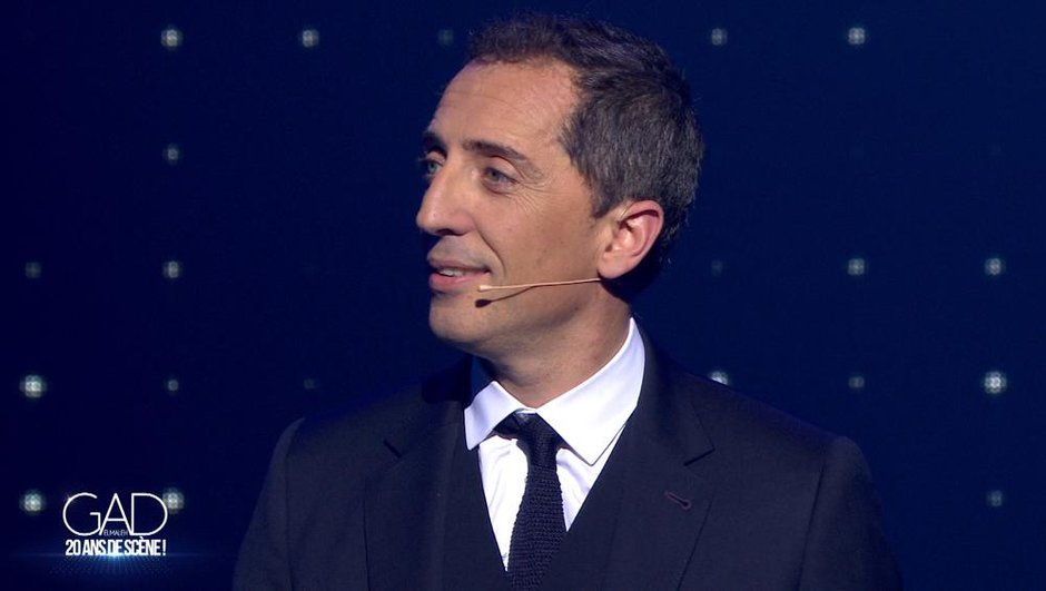 Gad Elmaleh fête ses 20 ans de scène sur TF1 samedi 16 mai dès 20h55