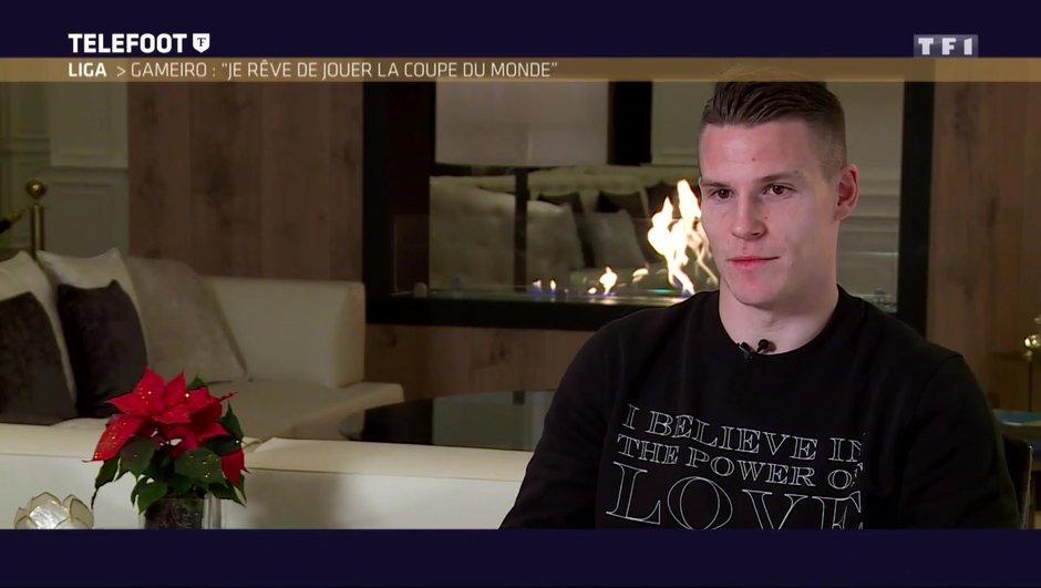 """[Exclu Téléfoot 15/01] - Kévin Gameiro : """"J'ai eu des contacts avec le Barça"""""""