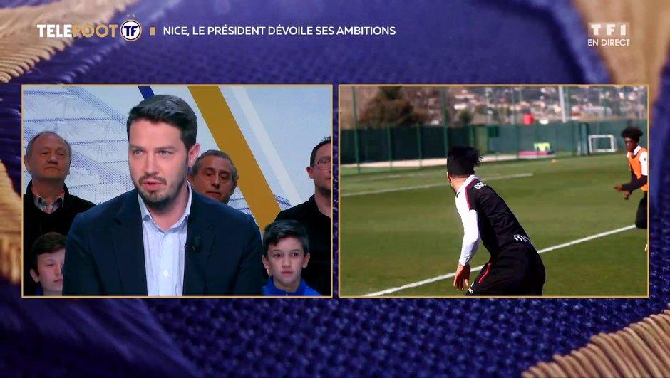 """[EXCLU Téléfoot 21/04] - Ganaye : """"Le projet de Nice se matérialise"""""""
