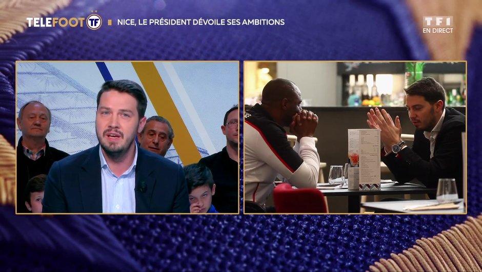 """[EXCLU Téléfoot 21/04] - Ganaye : """"Vieira est à fond dans le projet de Nice"""""""
