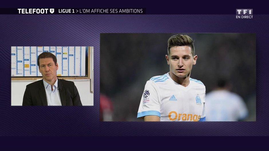 """[EXCLU Téléfoot 14/01] - OM / Rudi Garcia : """"Thauvin est un joueur très important pour Marseille"""""""