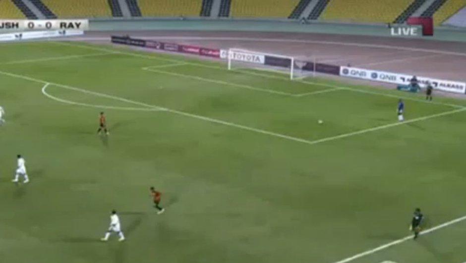 Insolite : Le pire dégagement d'un gardien de but (vidéo)